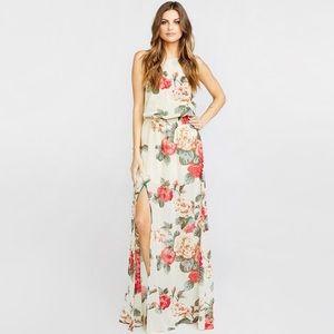 Show Me Your Mumu Lady Rose Heather Halter Dress